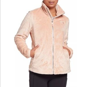 Plus Size The North Face Women's Osito Pink Fleece Jacket